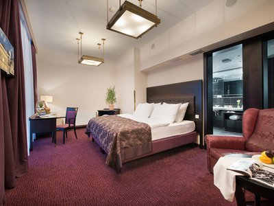 EA Hotel Royal Esprit**** - Executive Junior Suite with Prague Castle View Terrace